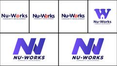 Nu-Works Logo Concepts - 3