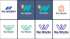 Nu-Works Logo Concepts - 2