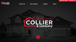 Collier & Company - Website Mock-Up