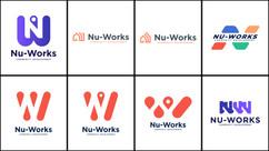 Nu-Works Logo Concepts - 1