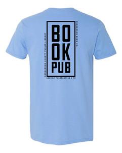 Book Pub - Back - Blue