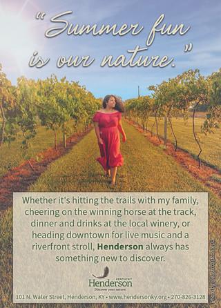Henderson - Evansville Livining Ad