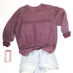 Henderson Corded Crew - V1