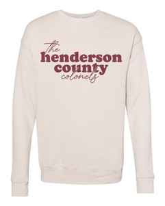 Henderson County Colonels - Crewneck