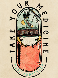 Cure - Take Your Medicine - Artwork
