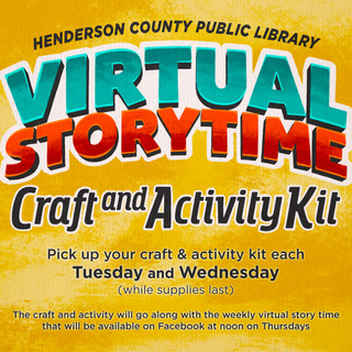 HCPL - Virtual Story Time Craft and Kit