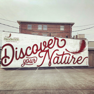 Discover your Nature - Mural Mock-Up