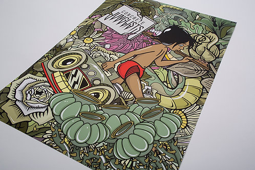 Jungle Boy Giclèe Print