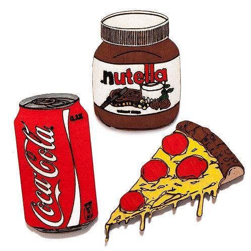 Кола + Нутелла + Пицца