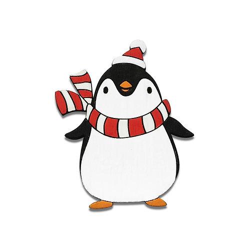 Пингвин Новый год
