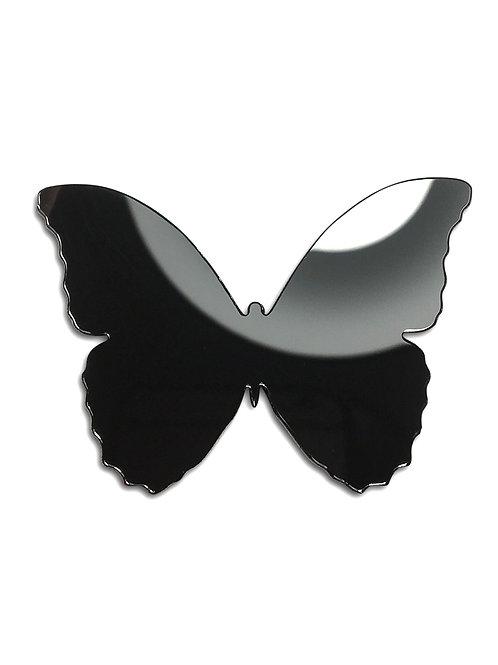 Бабочка силуэт