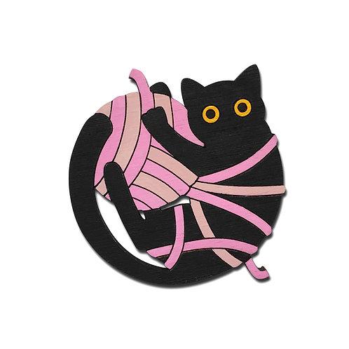 Кот и клубок