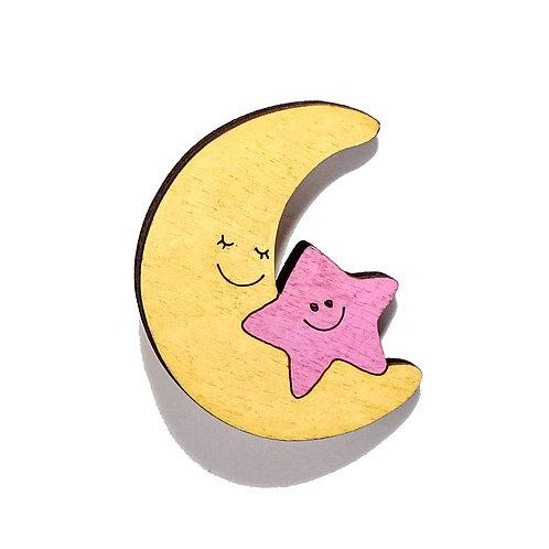 Луна со звездочкой