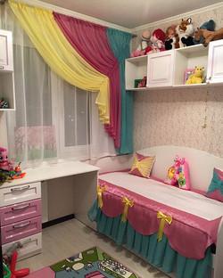 Дизайн комнаты для маленькой принцессы #