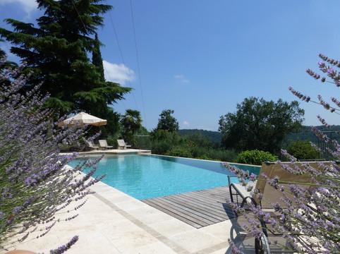 Pool with lavender.JPG