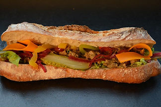 Sandwich FONDANT DE BOEUF AUX ÉPICES ET