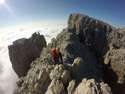 Via ferrata Dolomites hut to hut