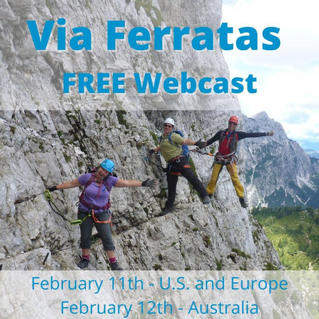 Via Ferratas in the Alps FREE Webcast.jp