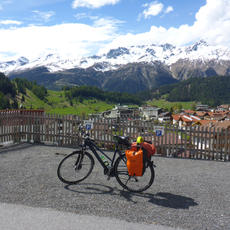Across the Alps on a Touring Bicycle