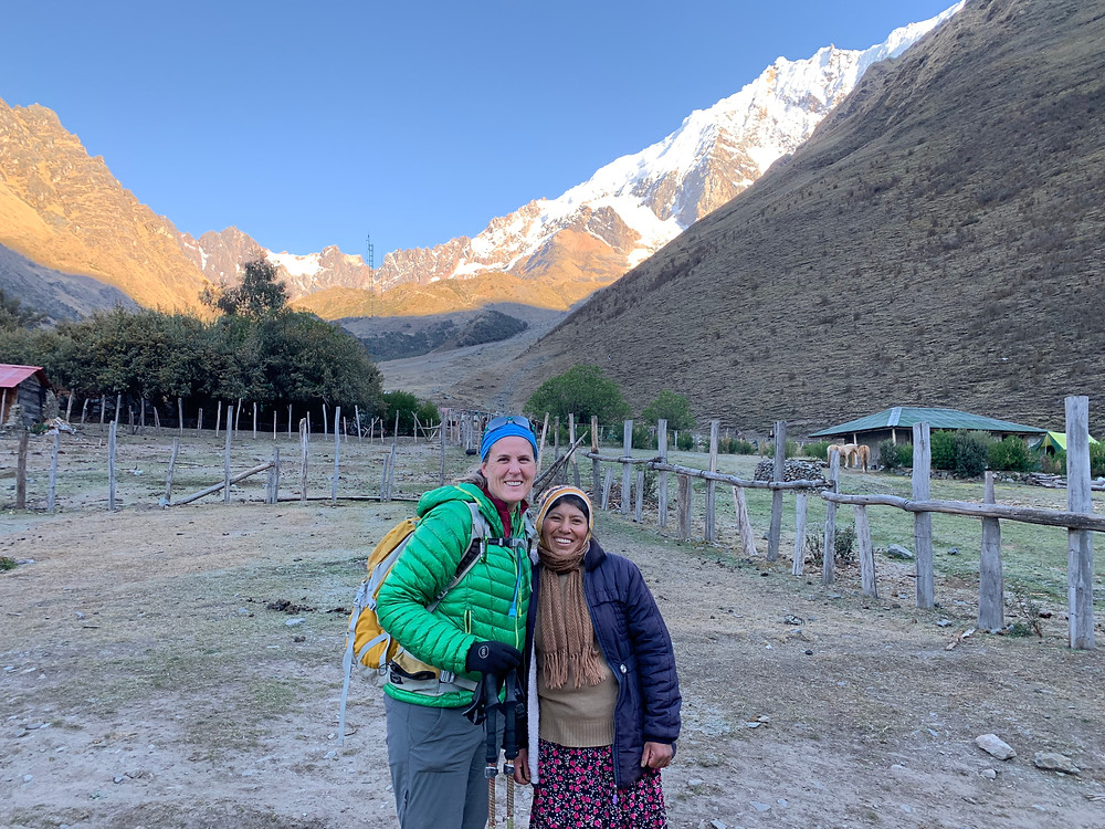 Interactions with the local Quechua people made the trek more authentic