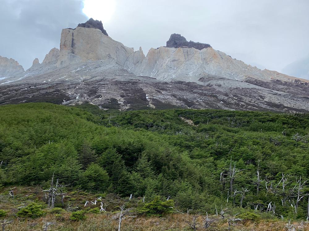 Los Cuernos on the W-Trek in Patagonia