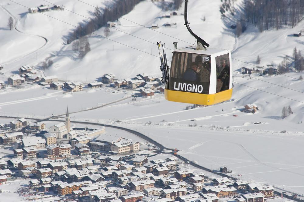 Above Livigno Village