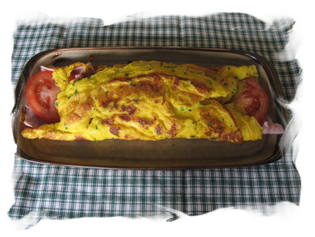 Bergsteiger Omelet Recipe - A Taste of the Alps Series