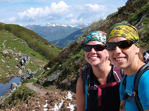 Hut hike in Switzerland