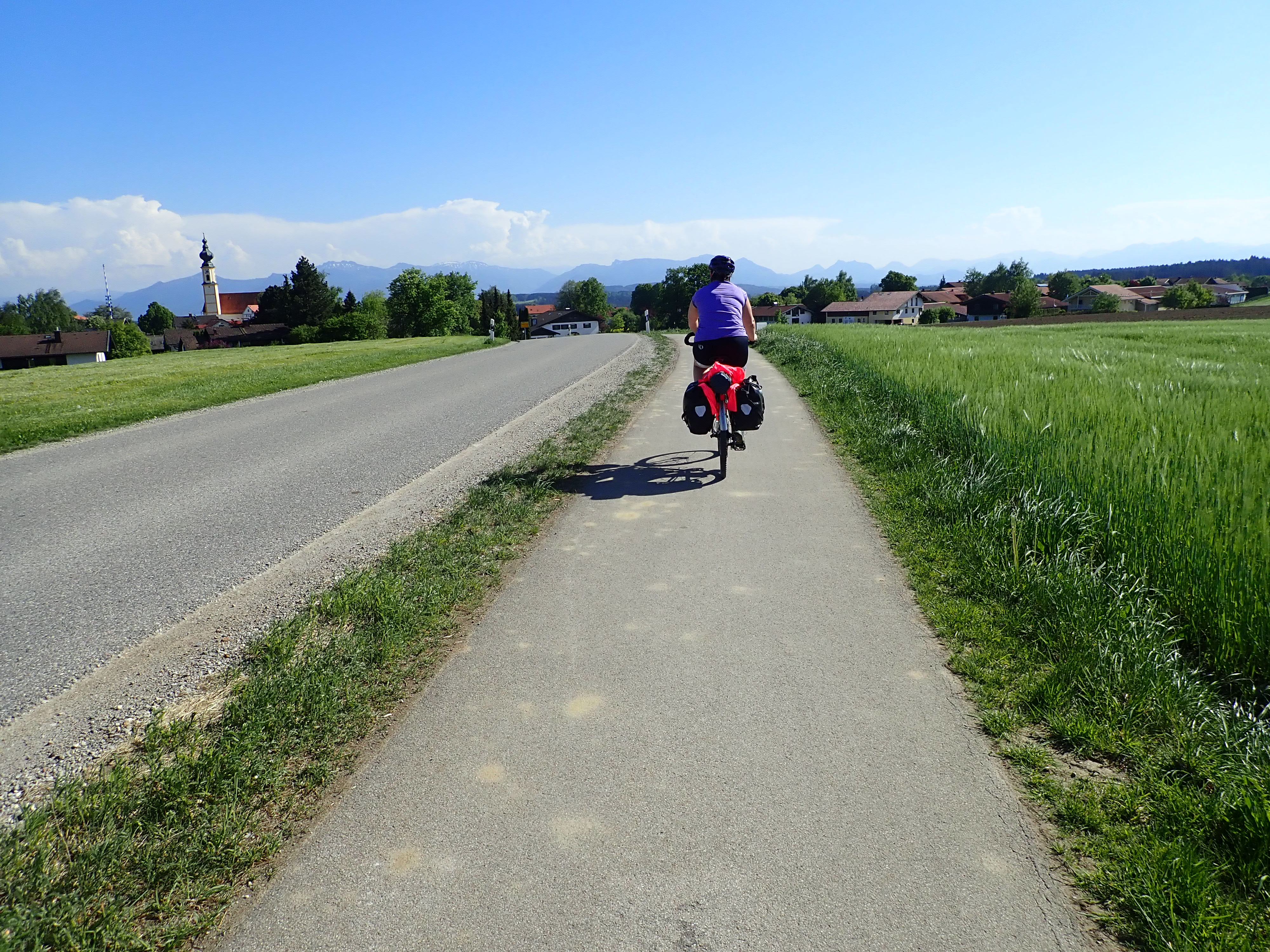 Self-guided bike tour in Germany