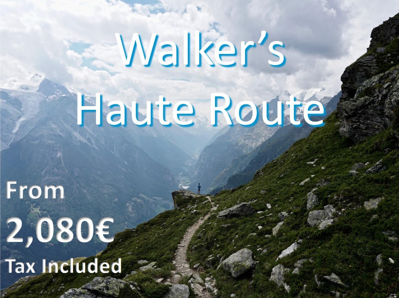Haute Route Hike