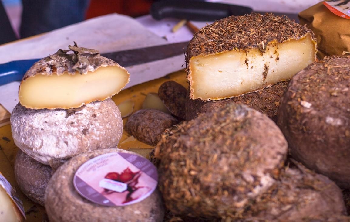 Local cheese in Umbria
