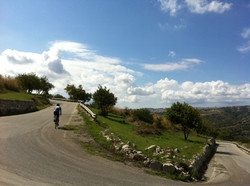 Bicycle touring in Sicily