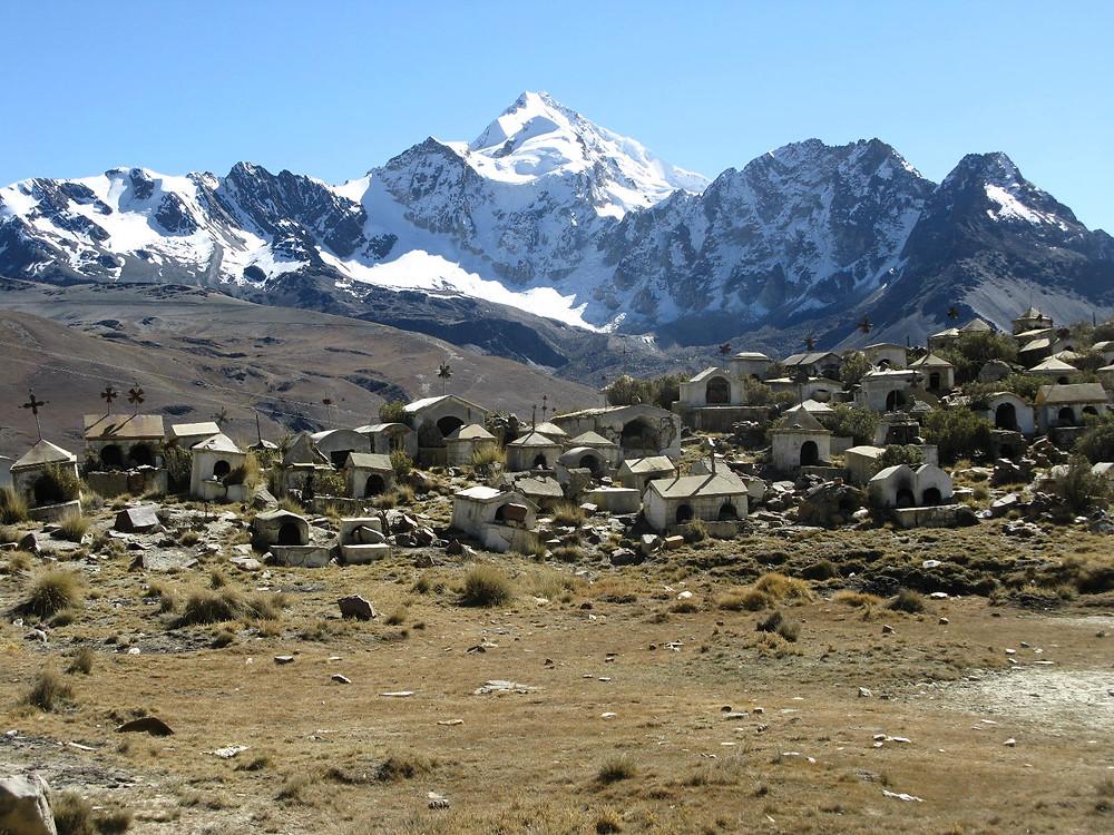 Cemetary in Bolivia