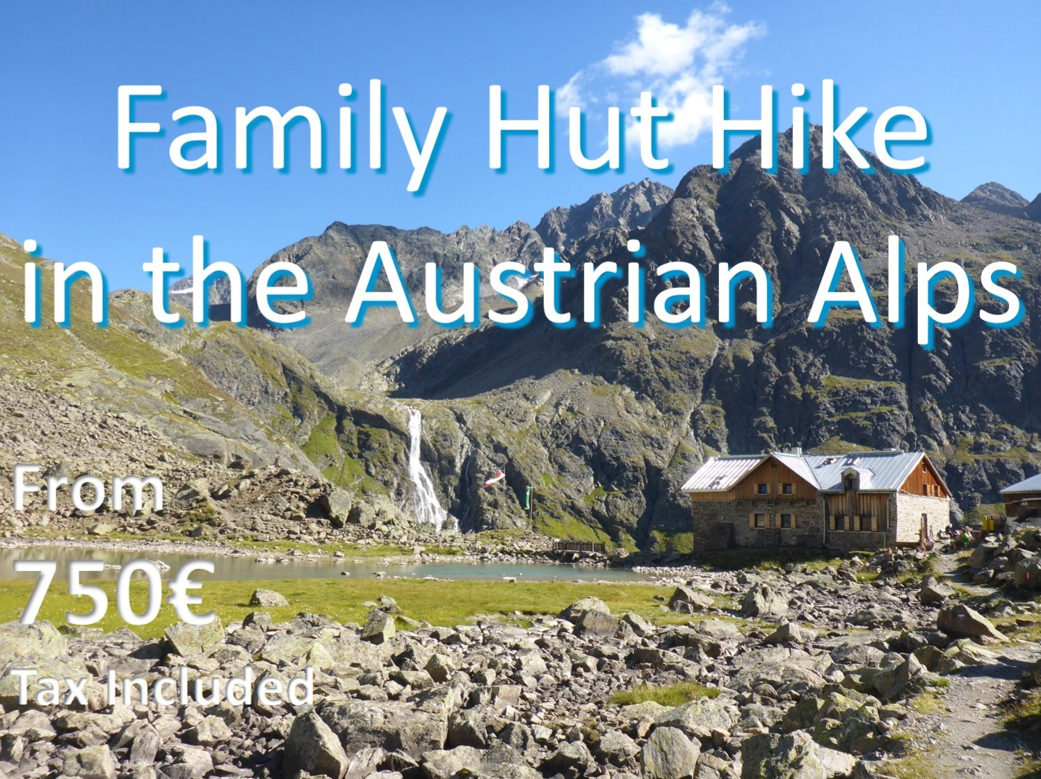 Family Hut Hike in the Austrian Alps