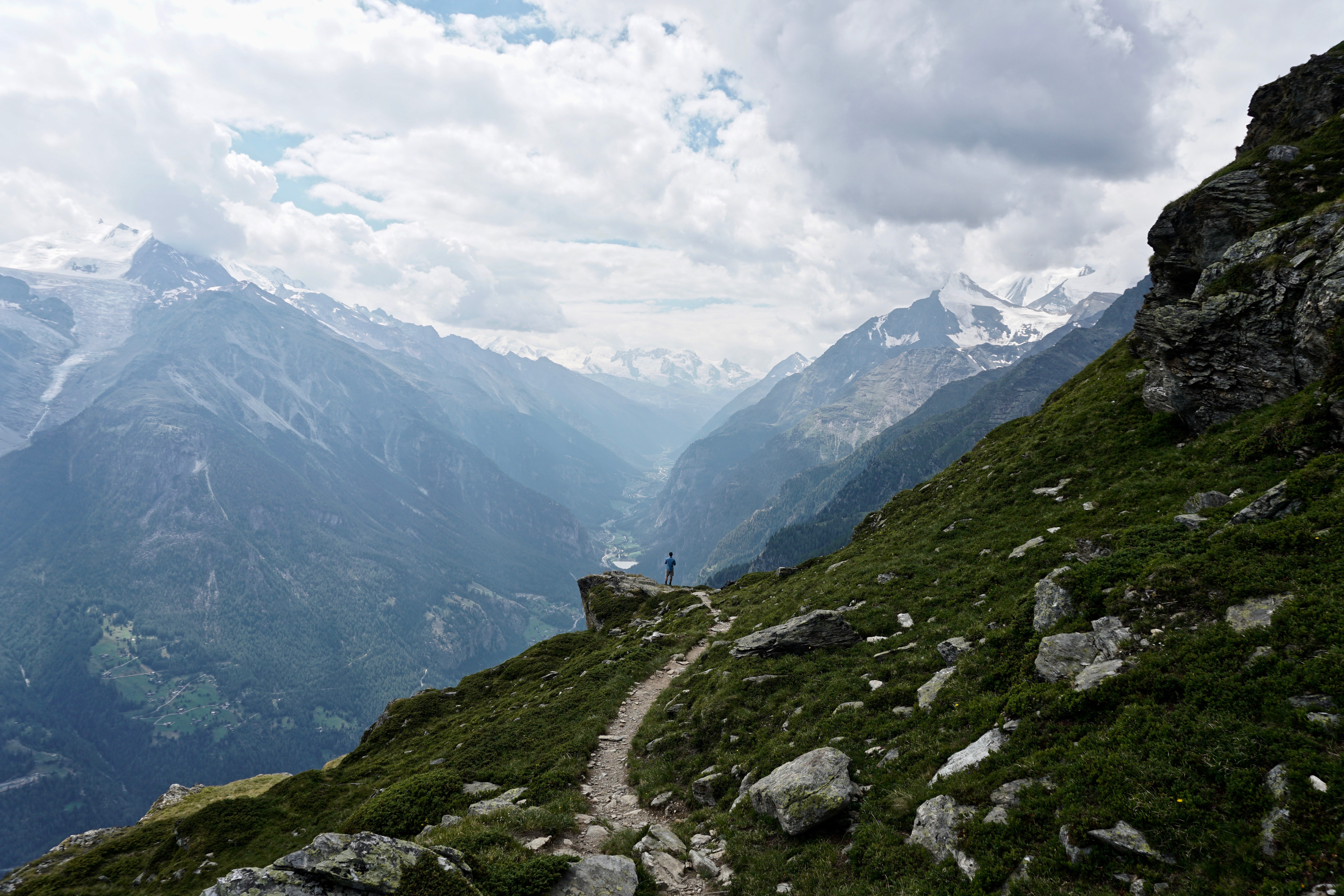 Views on the Haute Route