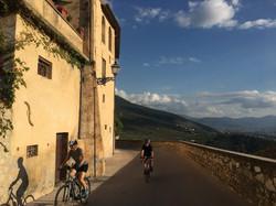 Bicycle tour through Tuscany