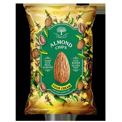 Temole Almond Chips  Sour Cream 40g