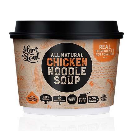 HART AND SOUL Noodle Soup Chicken 155g