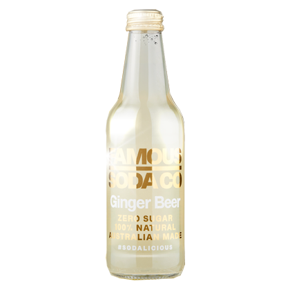 Famous Soda Ginger Beer 330ml