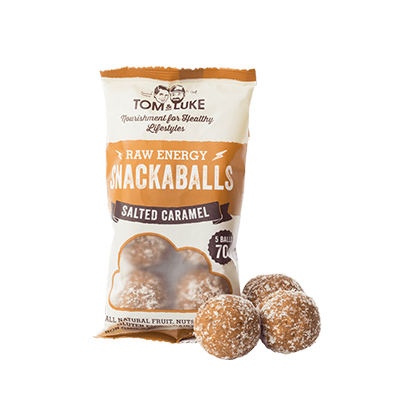 Tom and Luke Salted Caramel Snacka Balls 42g