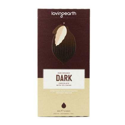 Loving Earth - Dark Chocolate 30g