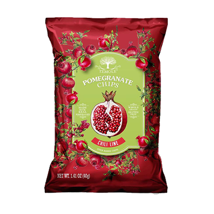 Temole Pomegranate Chips - Chilli Lime 40g