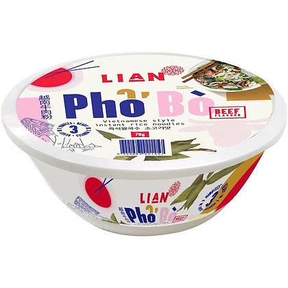 LIAN Pho Noodle Soup  Beef 70g