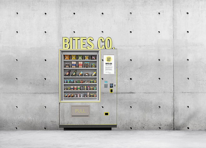 vinyl blended vending machine bites comp