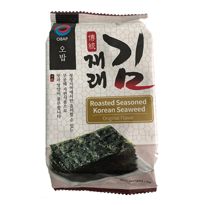 Roasted Seaweed Salty 5g