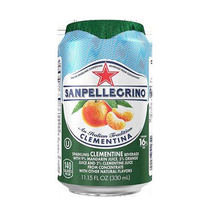 San Pellegrino Sparkling Clementine 330ml