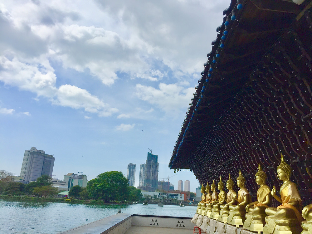 Seema Malaka buddhist temple, Colombo