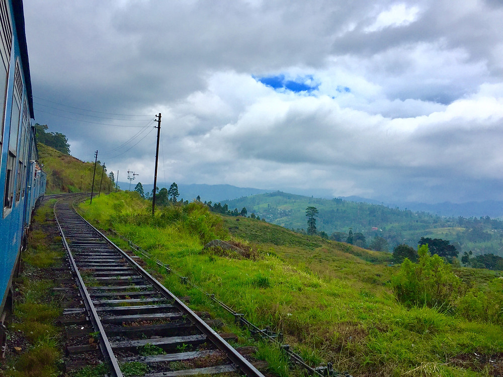 Kandy to Elle train ride