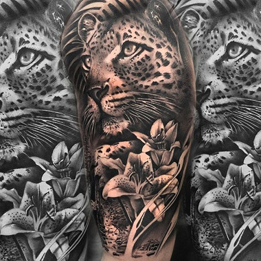 Leopard 🐆  Made in @bambootattoo  by @t