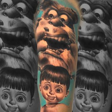 MONSTRUOS SA  @tattooshop.es  @targaryen